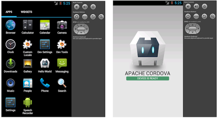 Creating your first Cordova app - Apache Cordova