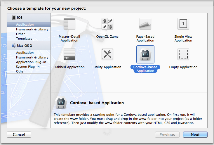 Getting Started With Ios Apache Cordova