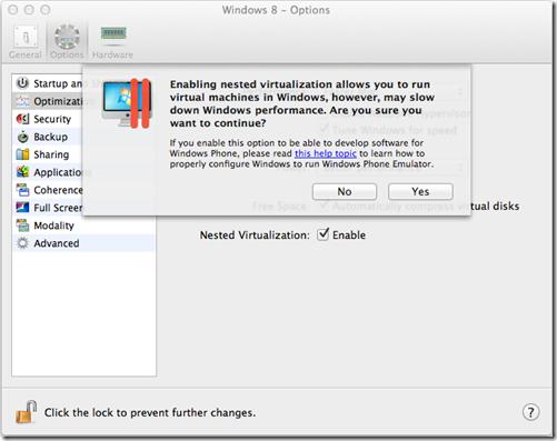 Configuring Parallels Desktop - Apache Cordova